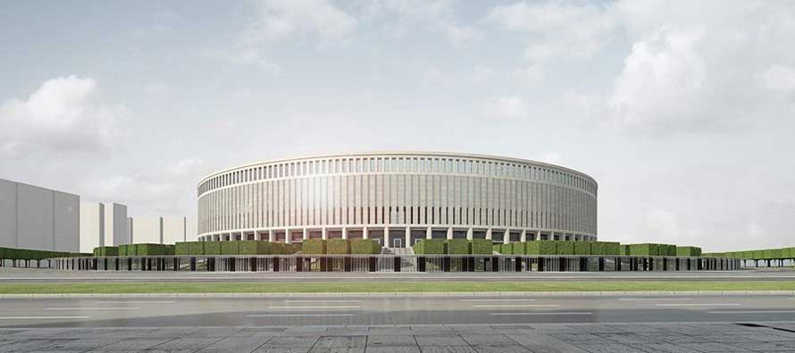 External render of FK Krasnodar