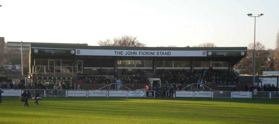 Inside Fortress Stadium Bromley