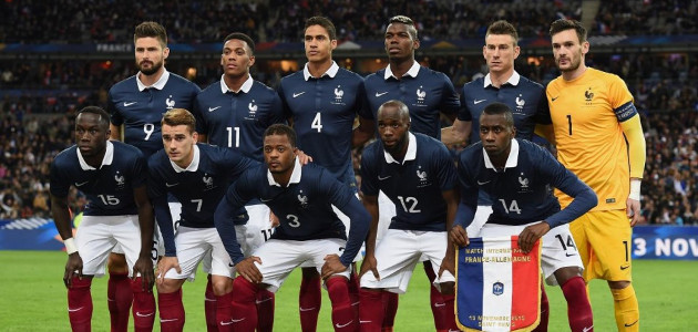 The French National Team for 2016.