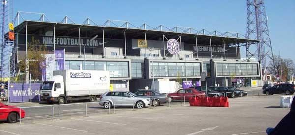 Exterior of Franz Horr Stadium