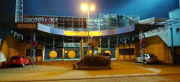 Exterior of Freethiel stadium