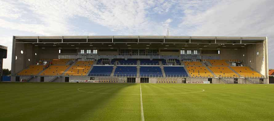 Freethiel Stadion main stand