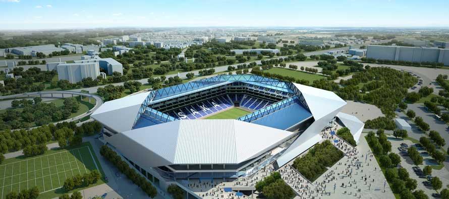 New Gamba Osaka Stadium Football Tripper