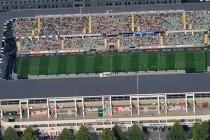 Aerial view of Gamla ullevi stadium