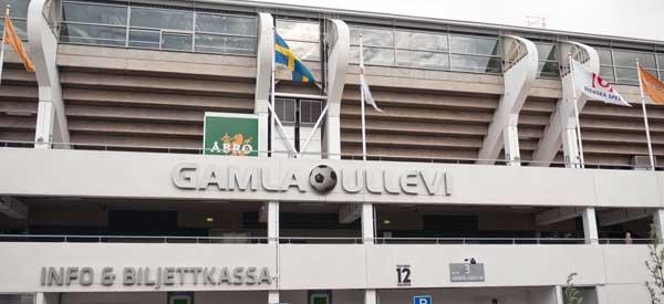 Exterior of Gamla Ullevi