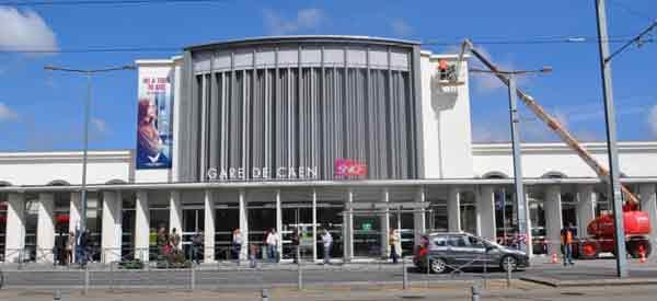 Gare de Caen exterior