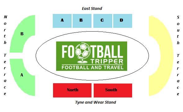 Gateshead International Stadium plan