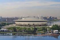 Aerial rennder of Zenit Arena