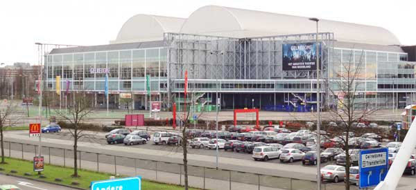 Gelredome outside parking