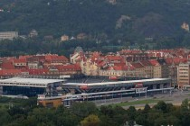 Aerial view of Generali Arena