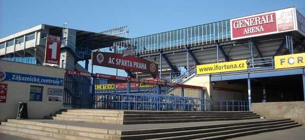 Generali Arena entrance