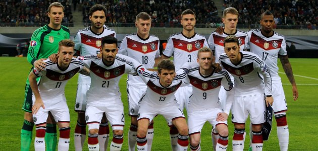 The Champions of the 2014 World Cup who will be looking to add a Euro trophy to their cabinet