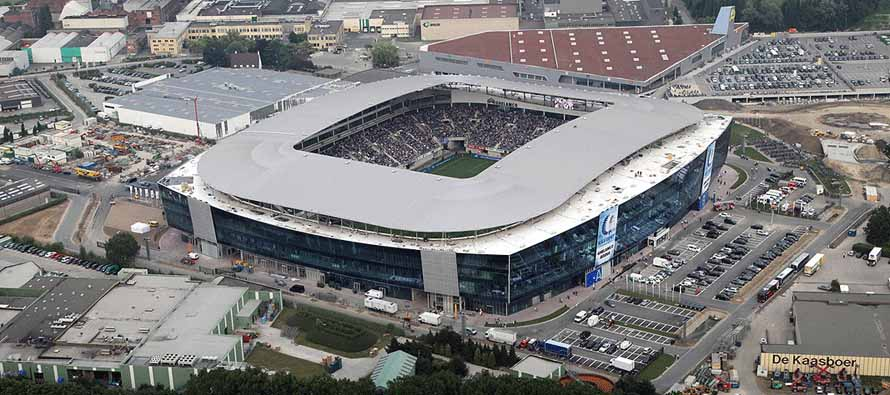 Aerial view of Ghelamco Arena