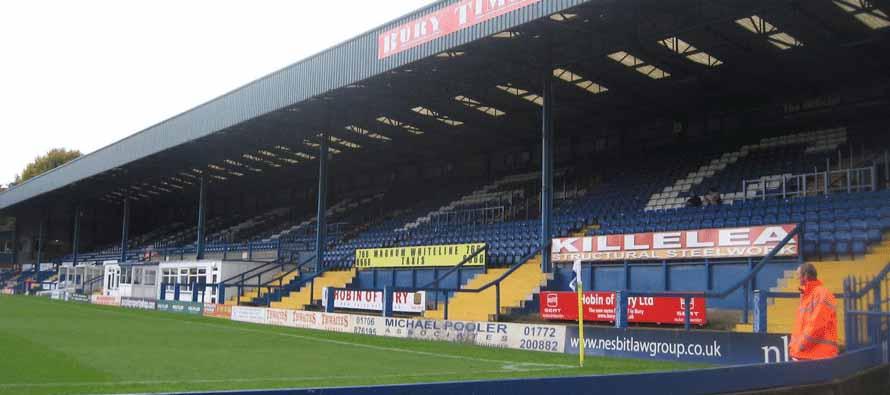 Gigg Lane Main Stand