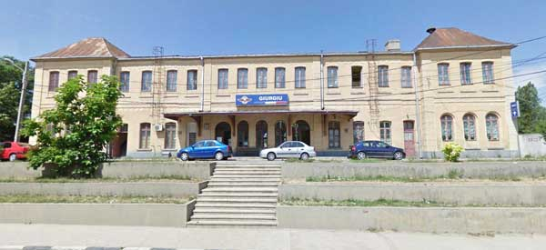 Giurgiu's train station
