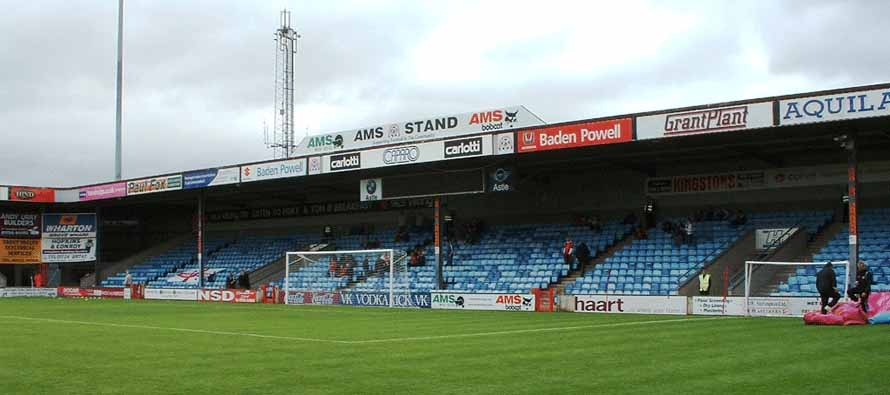 Glanford Park Goal End