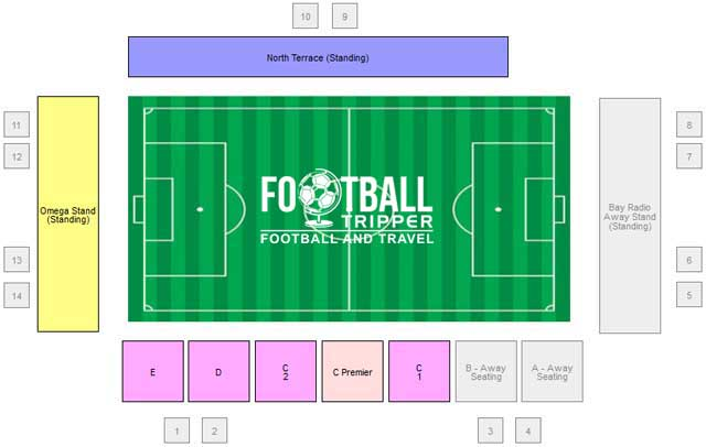 Globe Arena Seating Plan
