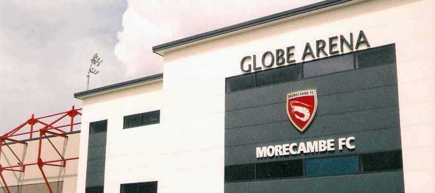 Globe Arena Main Stand Exterior