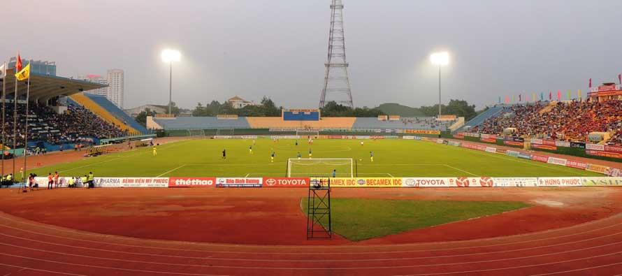 Inside Go Dau Stadium