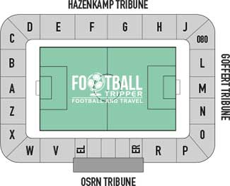 Goffertstadion seating sections