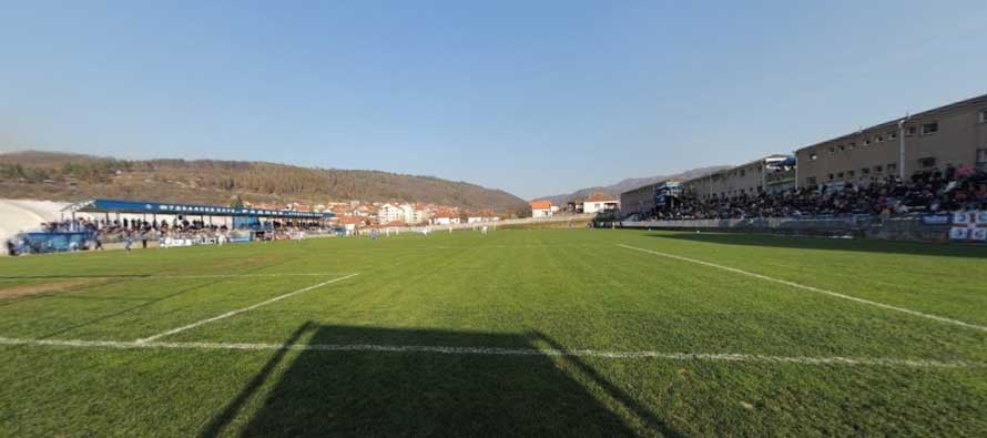 Inside Stadion Surdulica
