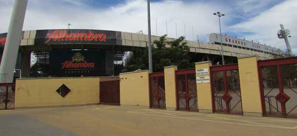 Exterior of Granada's ground