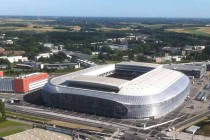 Aerial View of Grand Stade Lille