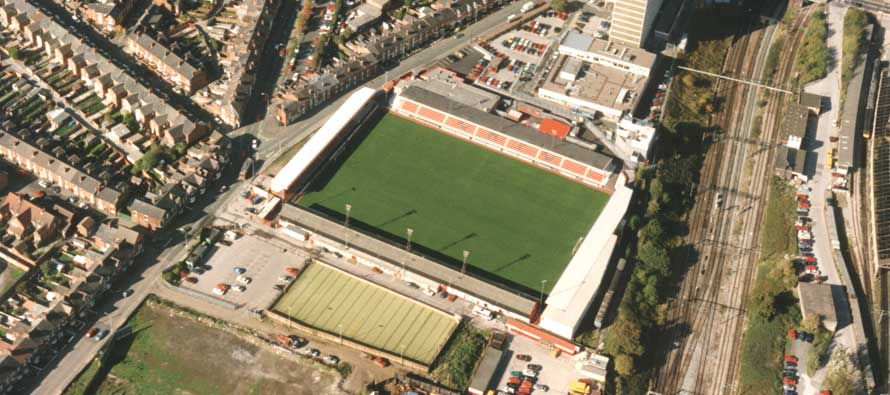 Gresty Road pitch