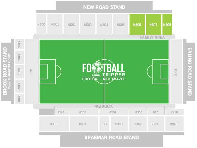 Griffin Park Brentford Seating Plan