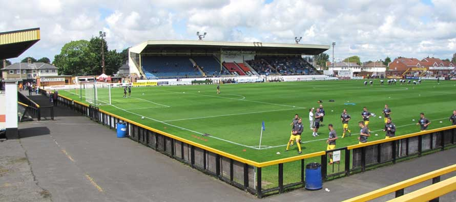 Inside Haig Avenue Stadium