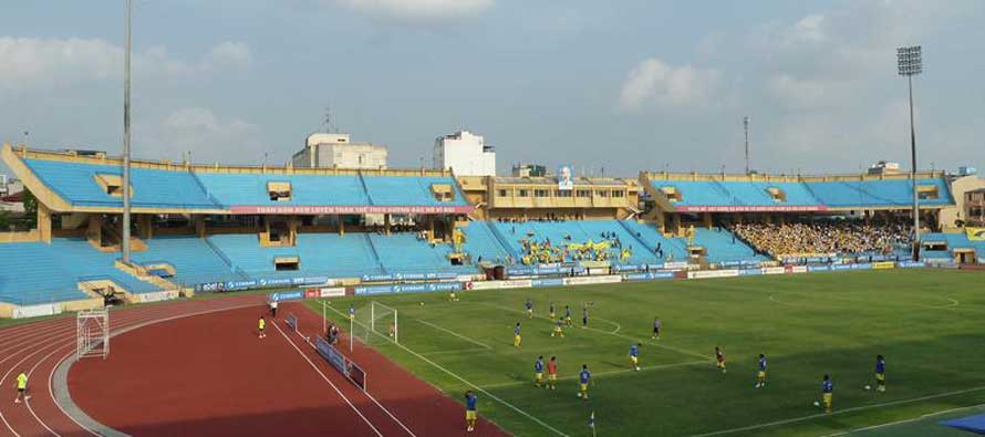 Hang Day Stadium's main stand