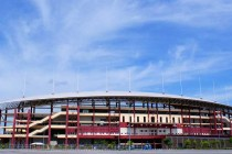 Exterior of Hang Jebat Stadium