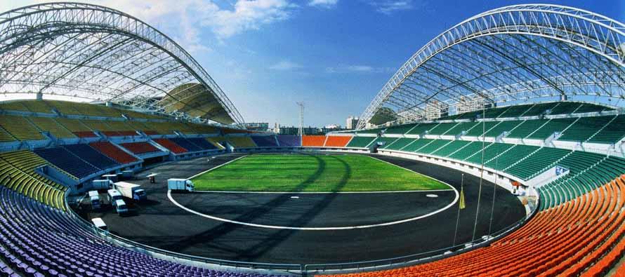 Inside Harbin Sports Center