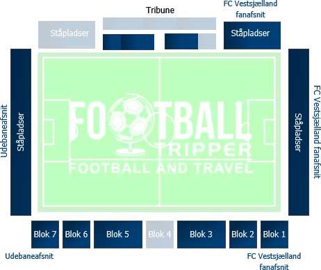 Harboe Arena Seating Plan