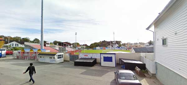 Overlooking Haugesund Stadium