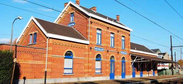 Heverlee station building