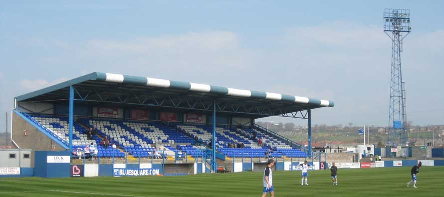Holkeer Street Main Stand