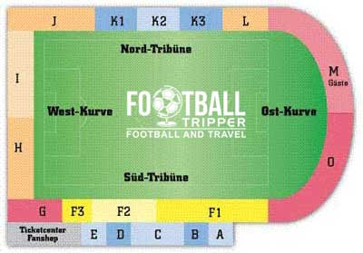 Holstein Kiel Seating plan