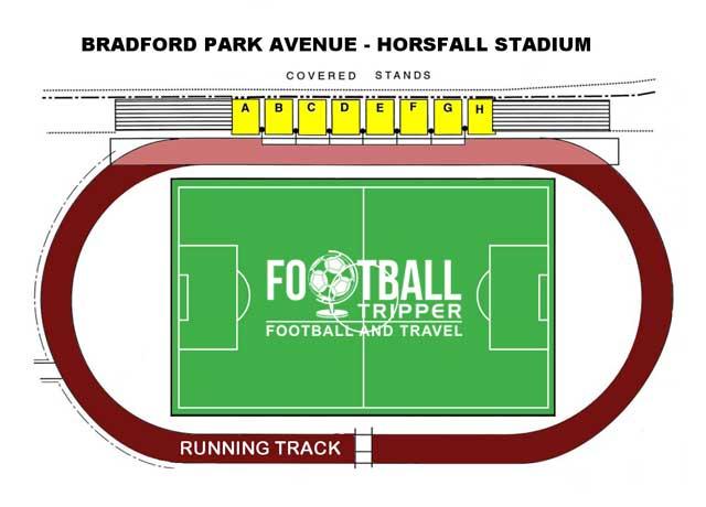 Seating plan for Horsfall Stadium