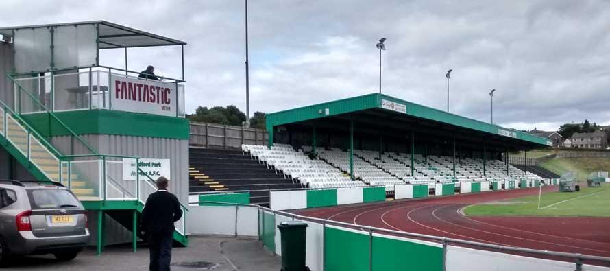 Horsfall stadium's main stand