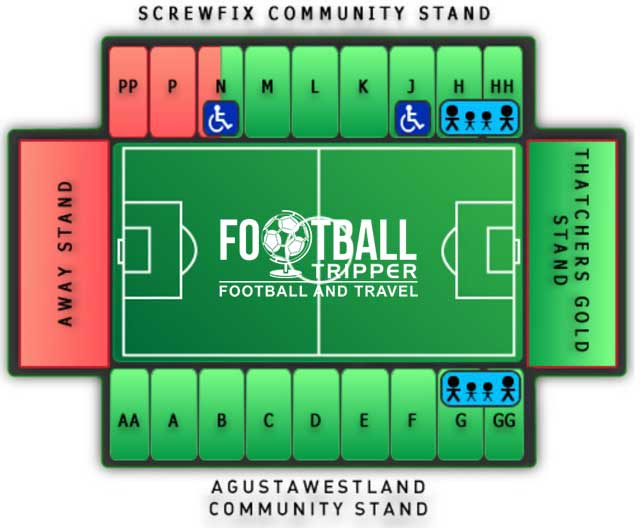 Huish Park Seating Plan