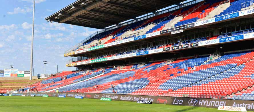 Hunter Stadium Main Stand