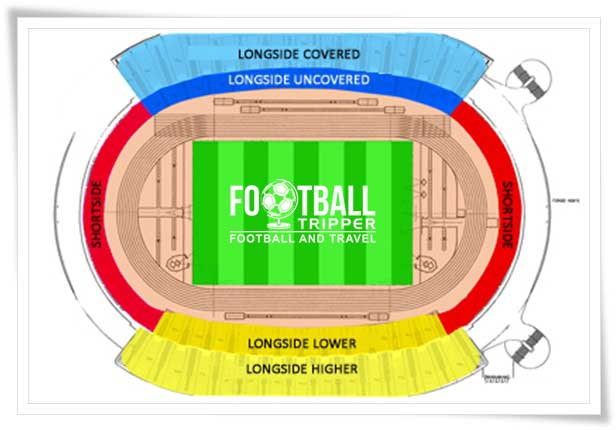 Iberostar Estadio seating plan