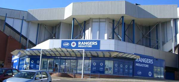 How the Ibrox megastore looks like.