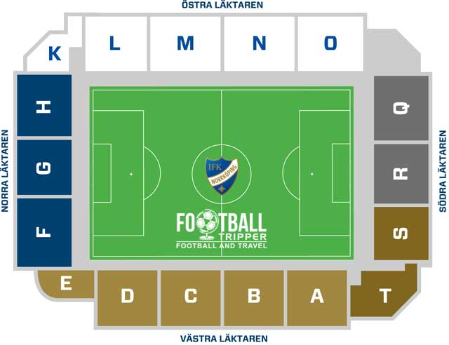 Idrottsparken seating chart