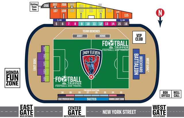 Michael Carroll Stadium Seating Chart