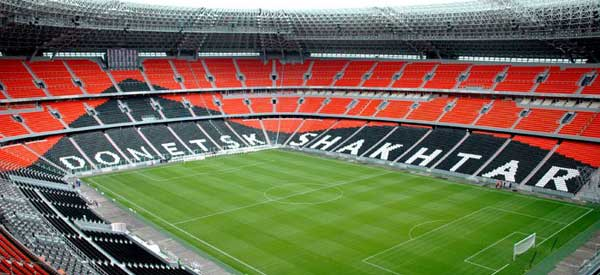 Inside Donbass Arena