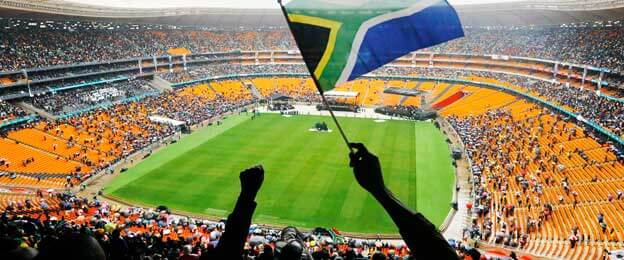 Inside FNB Stadium