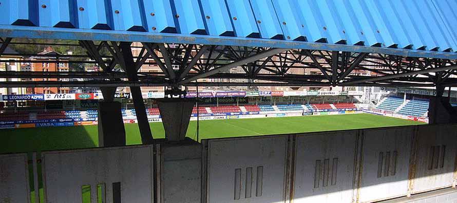 looking inside ipururua municipal stadio