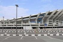 Side view of Jaber Al Ahmad stadium